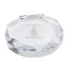 Rimini Gem Cut Crystal Paperweight