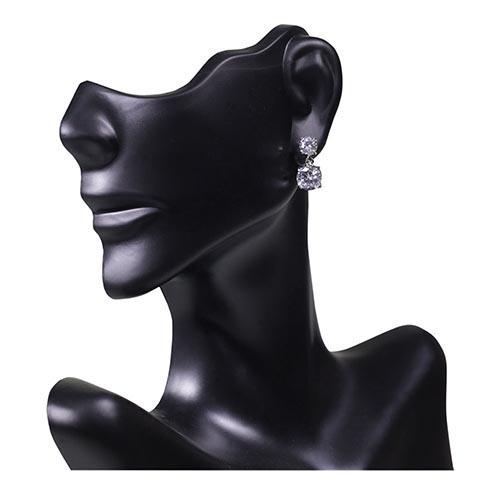 Cubic Zirconia Drop Earrings