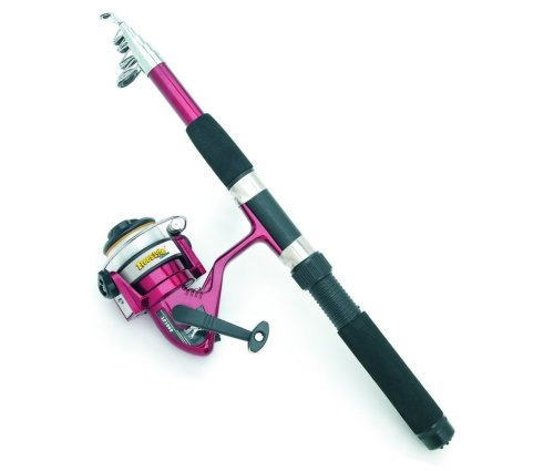 Telescoping Fishing Rod and Reel