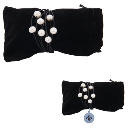 7 Pearl Leather Bracelet