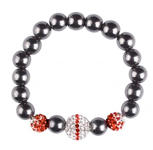 Hematite Crystal Bracelet