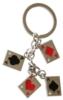 4 Aces Key Chain