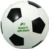 Regulation Size Black & White Soccer Ball