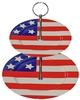 Patriotic 2 Tier Plate