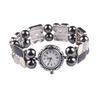 Watch with Jeweled Bracelet