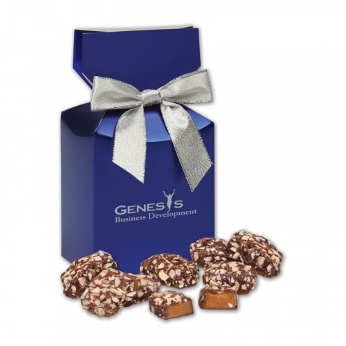 English Butter Toffee in Blue Premium Delights Gift Box