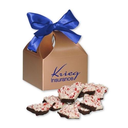 Peppermint Bark in Copper Classic Treats Gift Box
