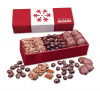 Red Trio of Sweets with Snowflake Wrap