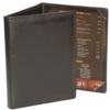 Castillian, Linen Bookcloth or Summit 3 Fold Panel Pocket Menu Cover (5 1/2