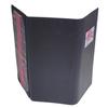 Book Cloth 3 Fold Panel Pocket Menu Cover (8 1/2