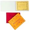 Stock Vinyl Autograph Book w/ 50 Multicolored Pastel Pages