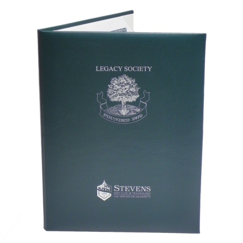 Deluxe Certificate Padded Cover (8-1/2