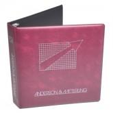 Heat Sealed Vinyl Binder (2 1/2