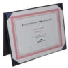 Deluxe Certificate Flat Cover (5 1/2