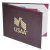 Deluxe Saver Certificate Cover w/15 Pt. Board Liner (8 1/2