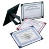 Certificate Presenter Easel Back