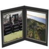 Book or Landscape Double Photo Frame (4