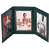 Book or Landscape Triple Photo Frame (3 1/2