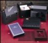 Small Media Box w/Velcro Closure