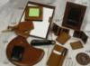 Leather Executive Accessories Glazed Old World Large Photo Pocket Frame