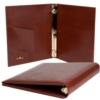Leather 3 Ring Binder (1/2