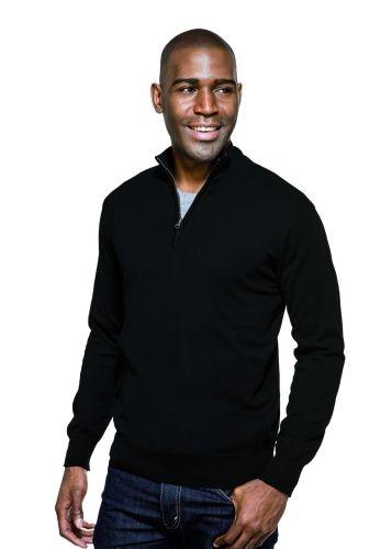 Quentin Fine Gauge 1/4-Zip Sweater