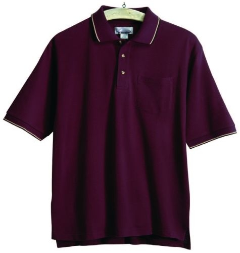 Conquest Trimmed Mesh Pocketed Polo