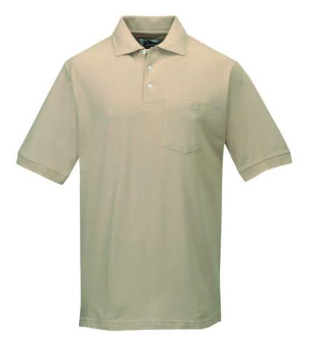 Caliber Ltd. Baby Pique Pocketed Polo
