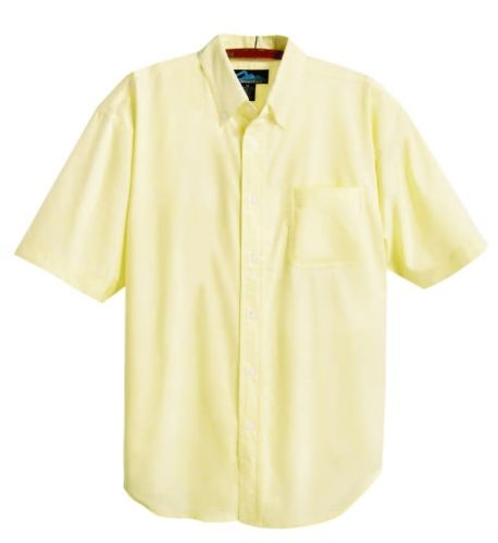 Retro Stain-Resistant Short Sleeve Oxford