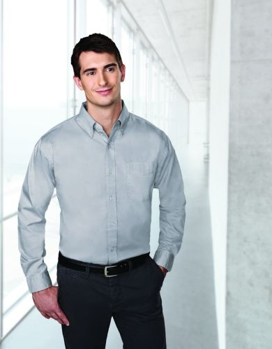 Chairman Wrinkle-Resistant Pinpoint Oxford Shirt