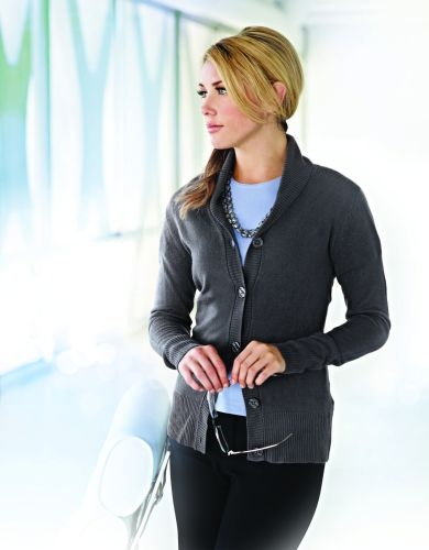 Ava Women's Shawl Collar Cardigan Sweater