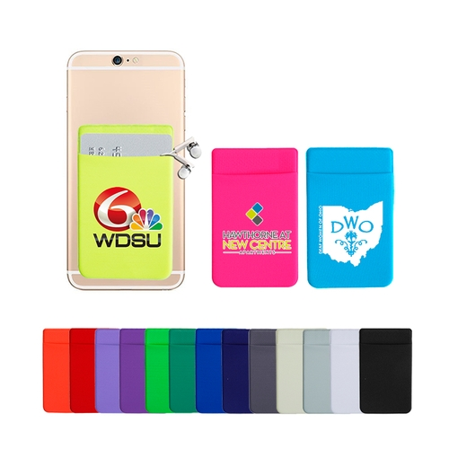 Adhesive LYCRA Cell Phone Wallet