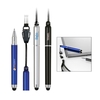 Capoff plastic pen with a stylus and Detachable cord lanyard