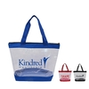 Clear Zipper Tote with Large Imprint Area