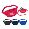 600D Polyester Three Pocket Polyester Fanny Pack