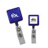 Translucent Square Badge Holders