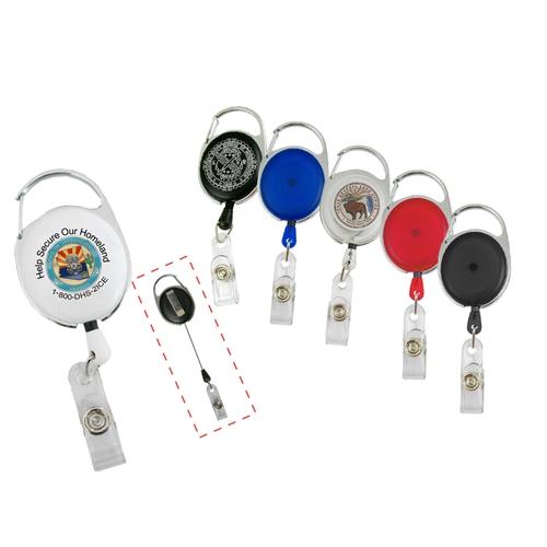 Badge Holders w/carabiner