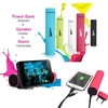 3-in-1 Power Bank, Speaker, 4000mAh and Cell Stand