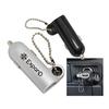 Portable USB Car Charger w/ Ball Chain