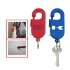 Spring Clip Tape Meausre W/Key Ring