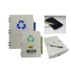 Recycled Color Notebook with Recycled Paper Stylus Pen-Close out item
