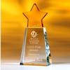 Award-Golden Star W/ Clear Base 8
