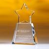 Award-Clear Star W/ Clear Base 8