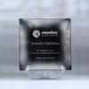 Award-Square Silver Leaf Plate 12