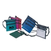 2-zippers neck wallet