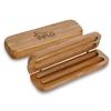 Bamboo Double Pen Box