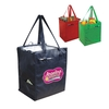 Eco Insulated Grocery Tote with Side Pocket