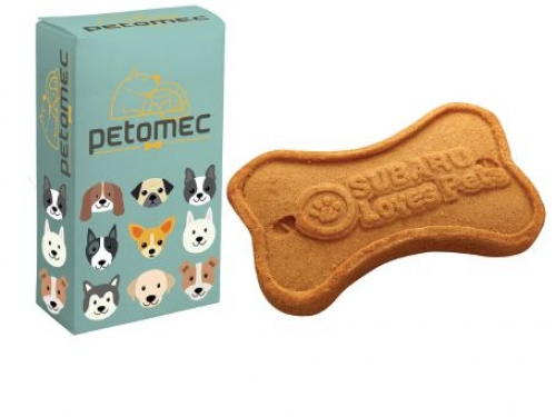 Logo Dog Cookie in Full Color Box