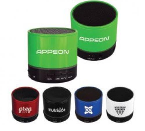 Tech Accessories - Bluetooth Accessories - Light Up Ring Bluetooth Speaker