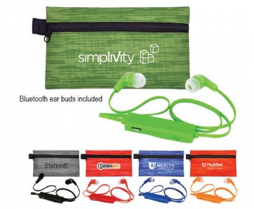 Tech Accessories - Bluetooth Accessories - Large Evolve Colorful Bluetooth Ear Bud Set